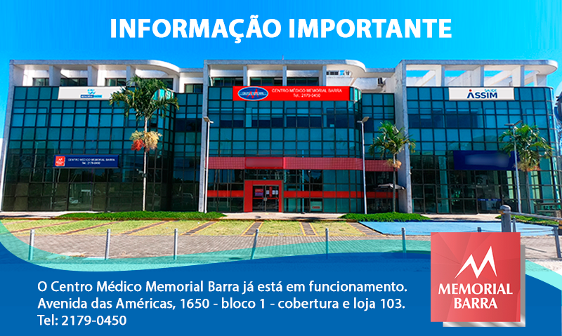 Aviso Importante Memorial Barra