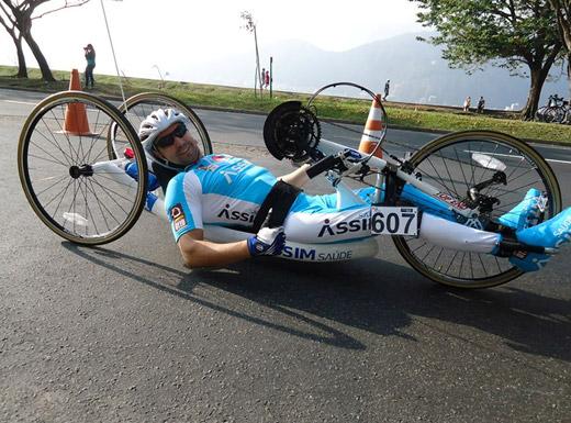 Edson Rocha Nascimento, atleta patrocinado pela Assim Saúde.